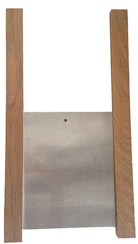 porte automatique de poulailler à guillotine